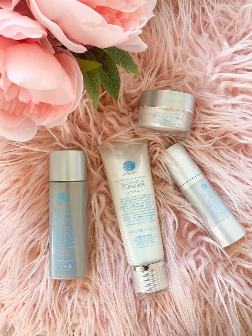 Skincare with Riovea
